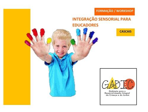 Workshop: Integração sensorial para educadores de infância